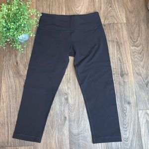 Lululemon Crop Black Leggings